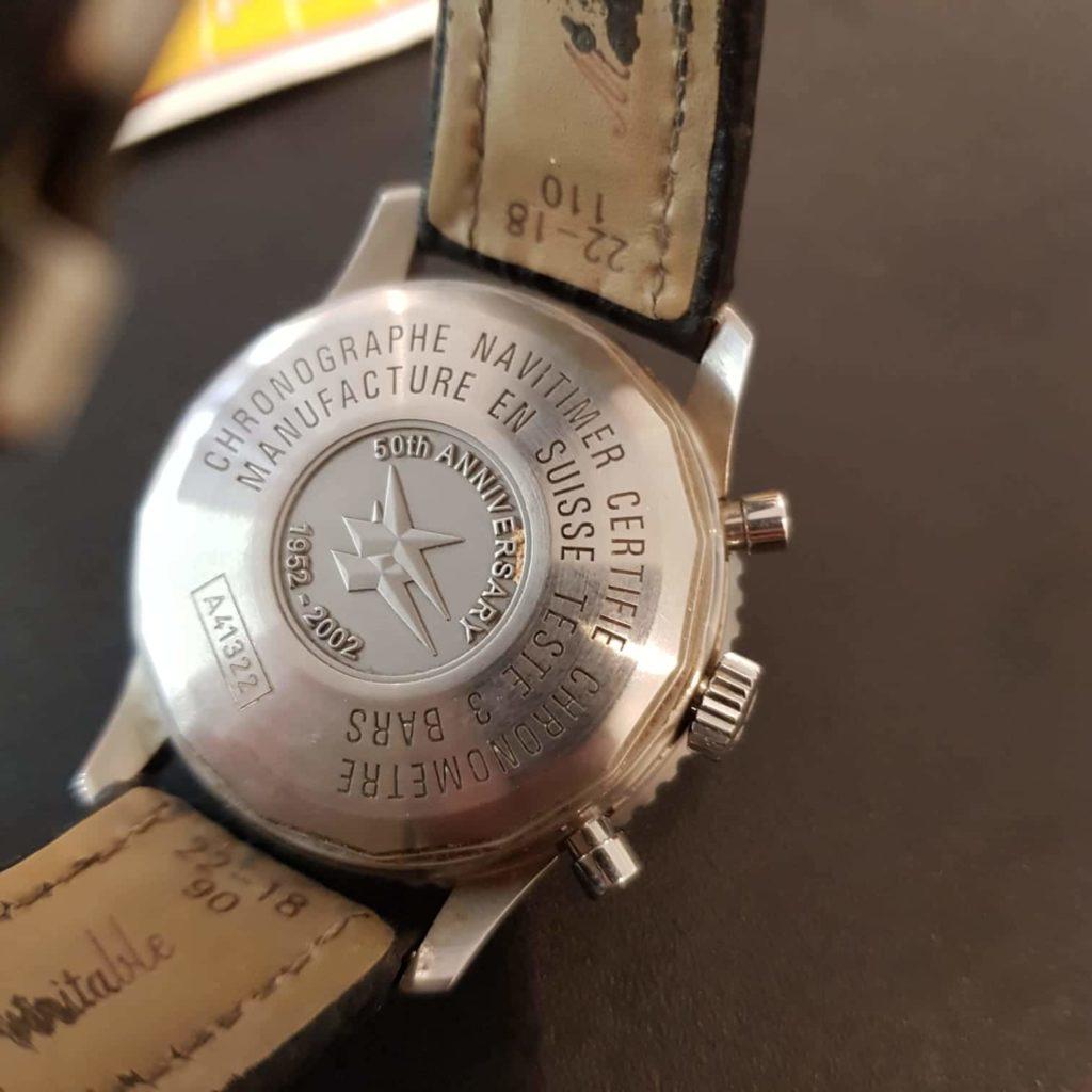 """Uhren An-/Verkauf in Mainz, """"Breitling Navitimer"""" (50 Jahre)"""