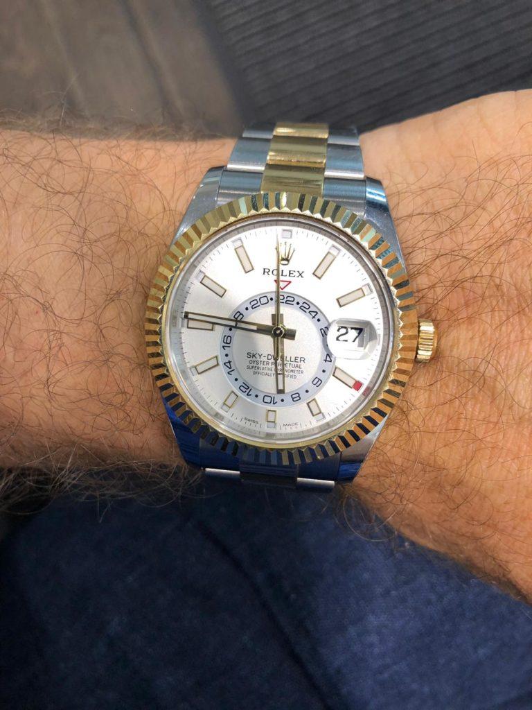 Rolex Sky-Dweller: Beispiel für einen professionellen Uhrenankauf