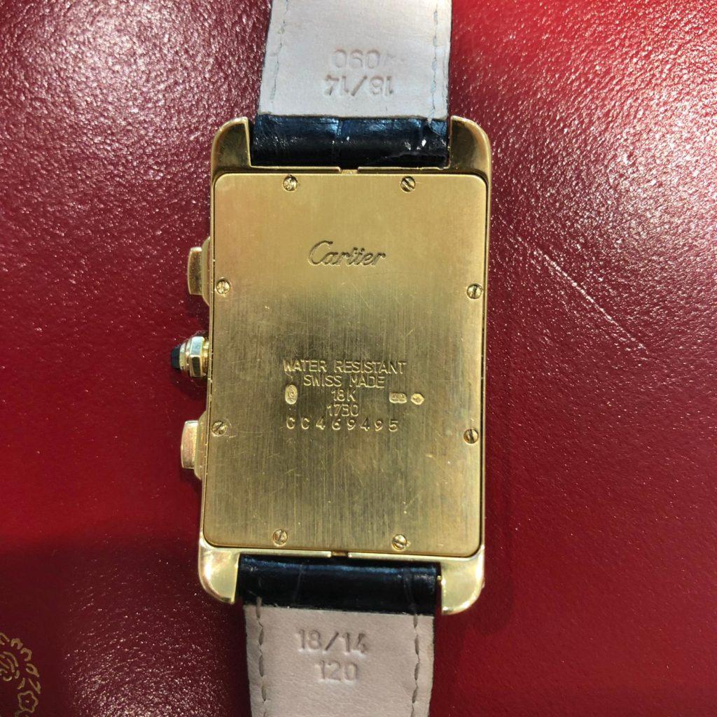 Uhrenankauf Mainz: Cartier Tank Américaine Chronograph