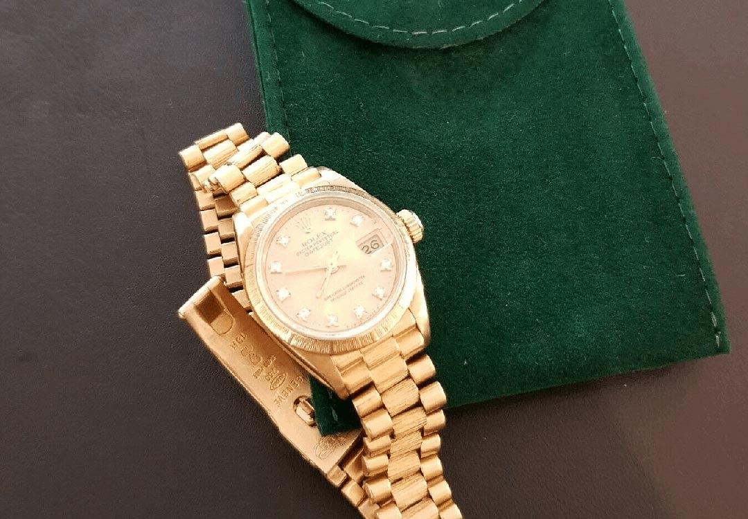Klassiker für Damen: Rolex Oyster Perpetual Datejust