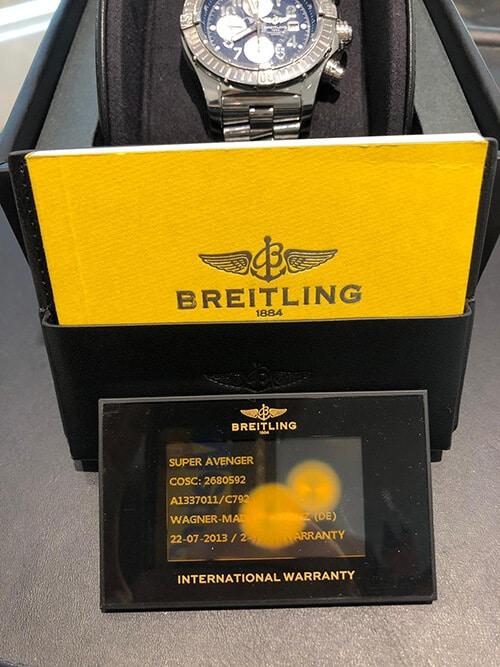 Breitling Super Avenger: Die Luxusuhr für echte Superstars