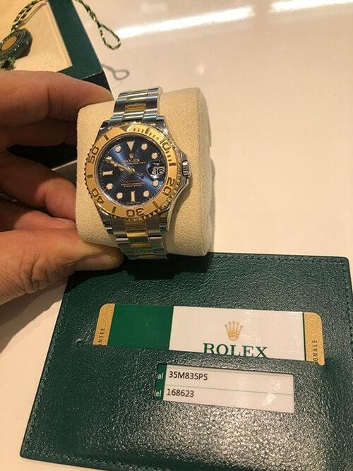 Auf dem Meer zuhause mit der Rolex Yachtmaster
