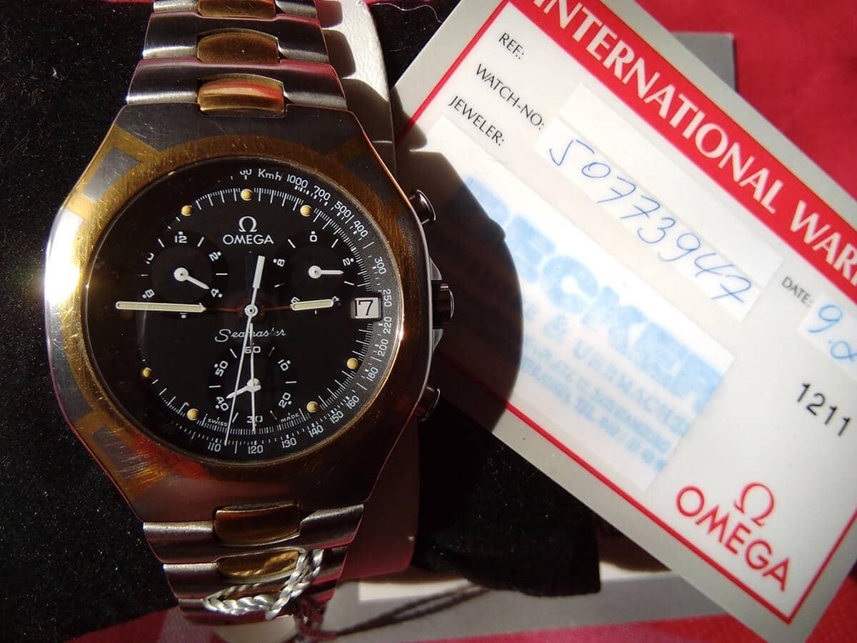 Zeitzeuge mit 18K Echtgold-Einlage: Omega Seamaster 1/10