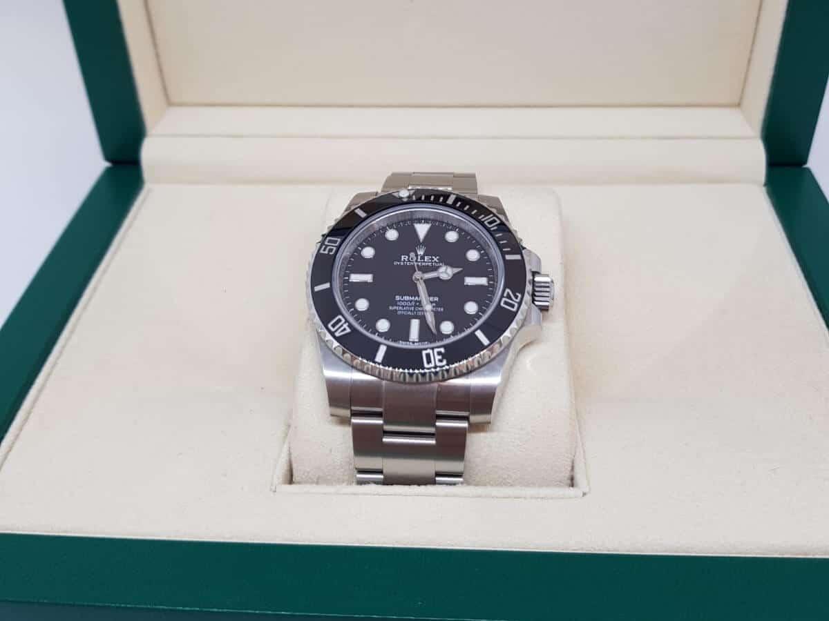 Die Rolex Submariner No Date in der Original-Verpackung