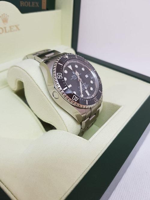 Auf Tauchkurs mit der Rolex Deepsea Sea Dweller