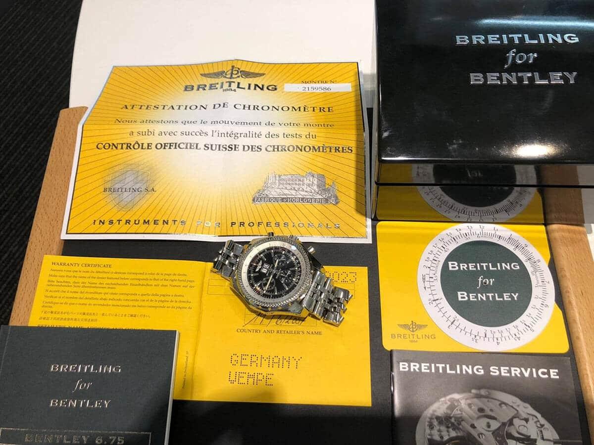 Meisterhafte Eleganz und Performance: Die Breitling Bentley