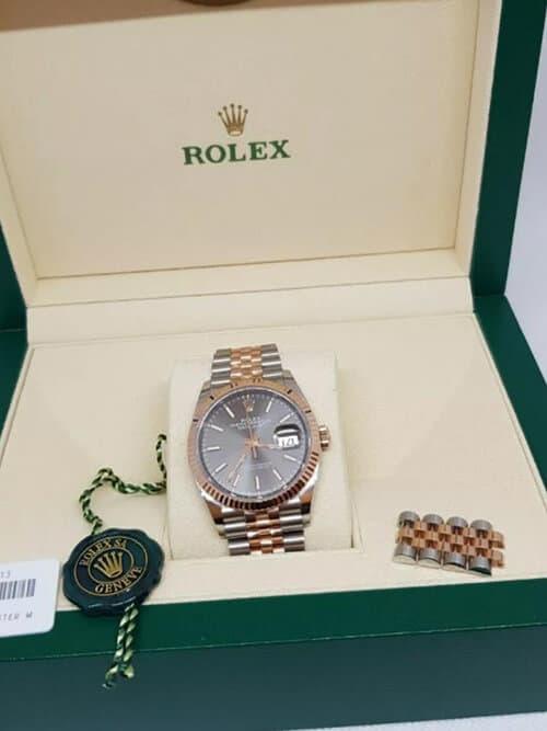 Modernes Geschmeide: Die Rolex Datejust Everose-Gold