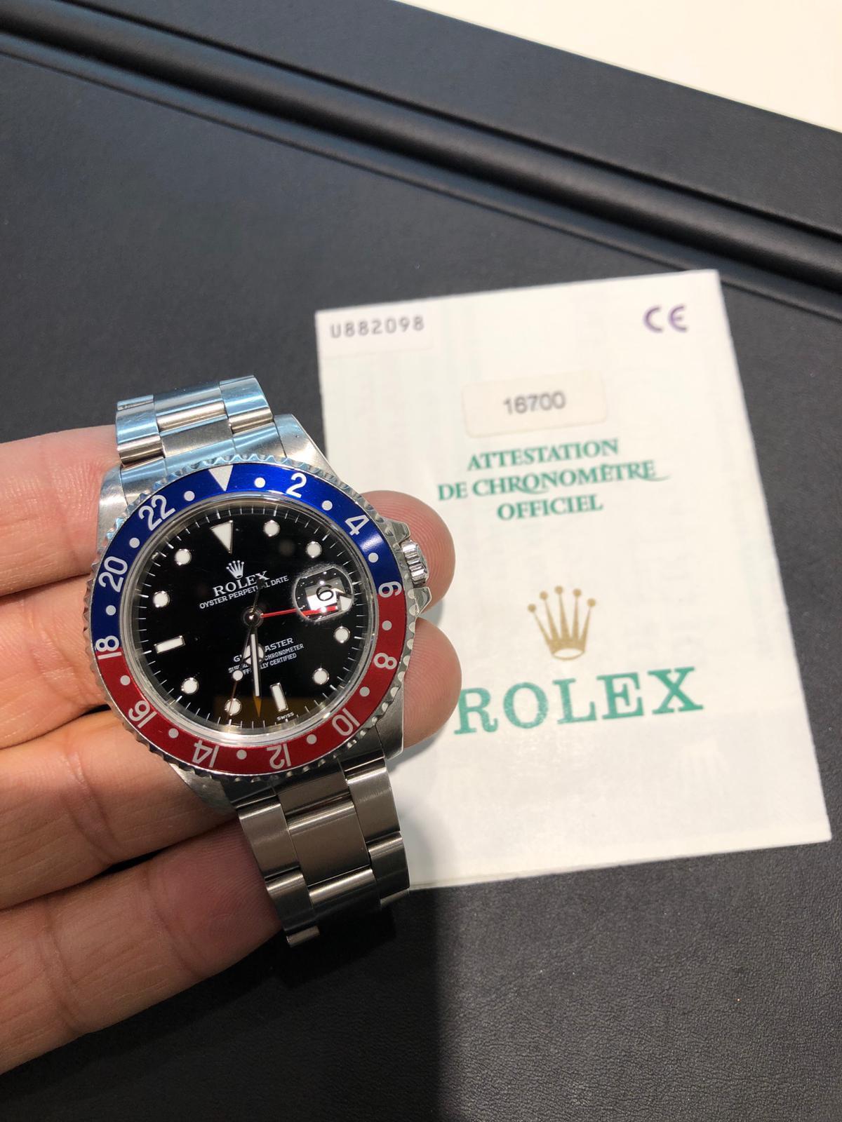 Uhrenankauf für Kosmopoliten: Rolex GMT Master
