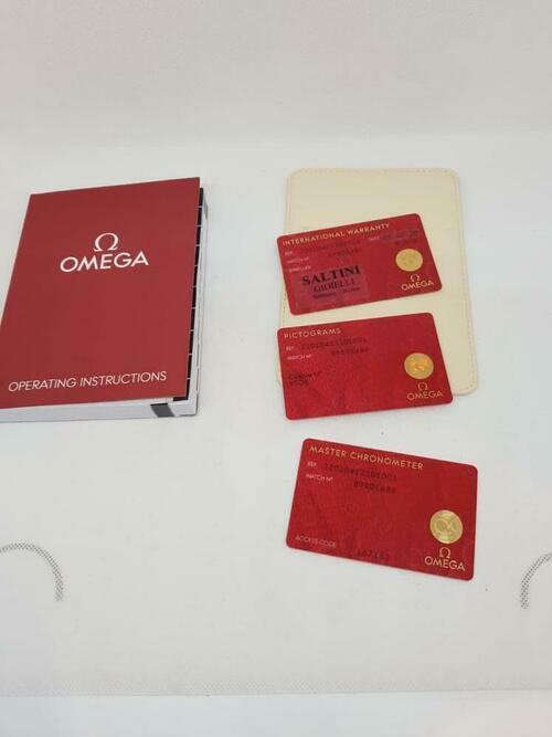Zertifikat zur Echtheit der Omega Seamaster Aqua Terra