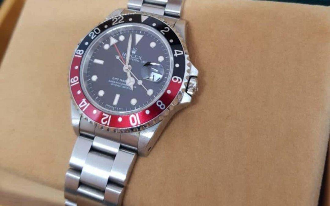 Zeitzonenüberwacher: Die Rolex GMT Master II
