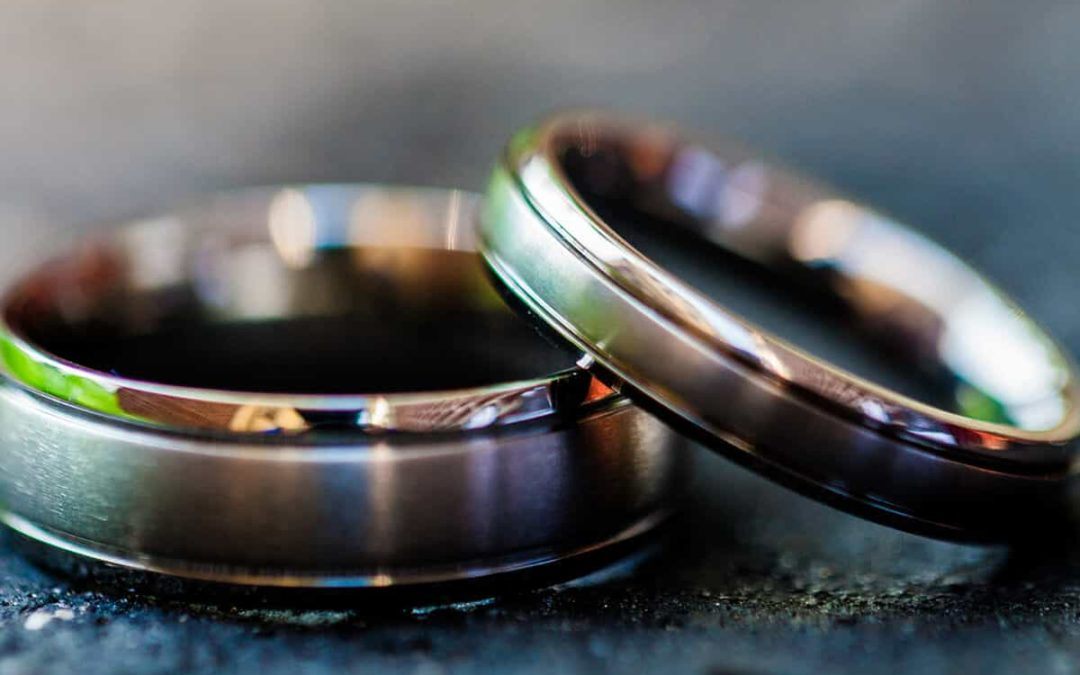 Titan Trauringe werden bei Brautpaaren immer beliebter