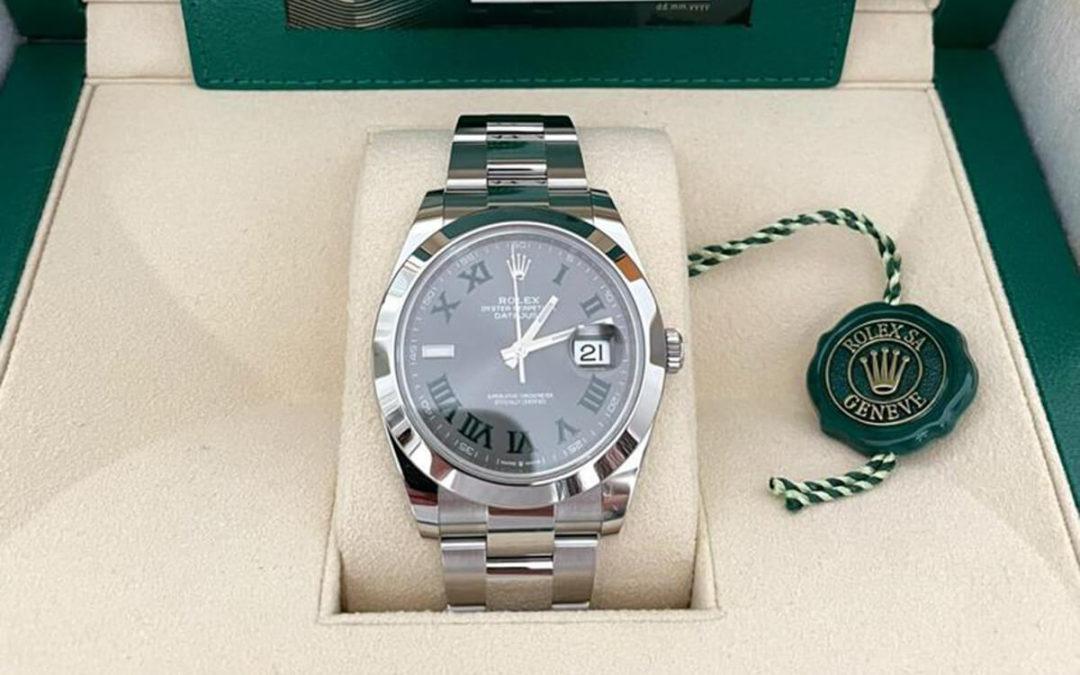 Ein echter Klassiker: Die Rolex Datejust 41 Wimbeldon