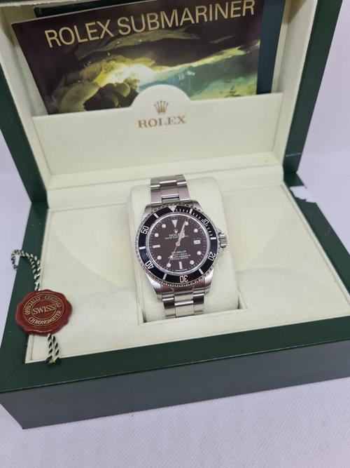 Rolex Sea Dweller am original verpackt