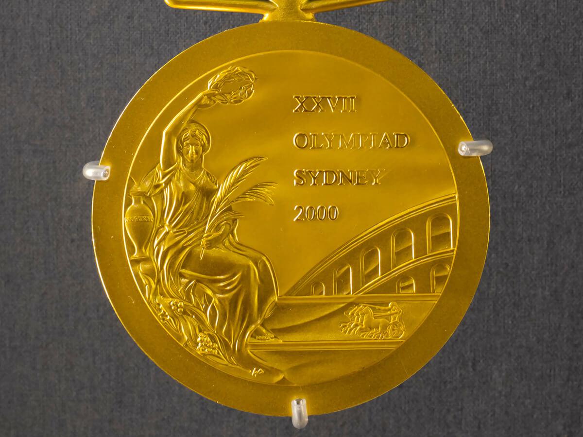 Goldmedaille zu Geld machen