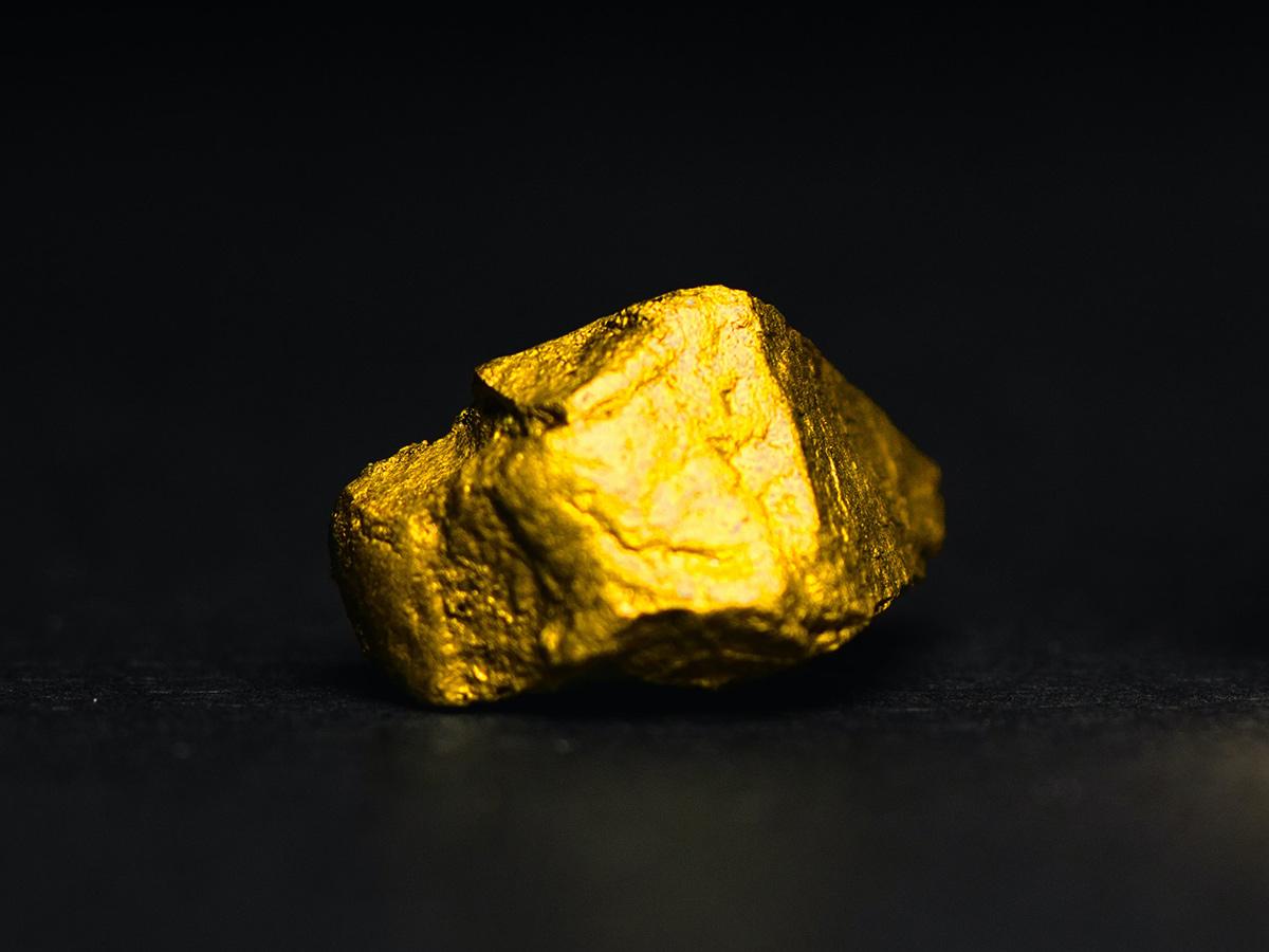 Gold graben, waschen und verkaufen