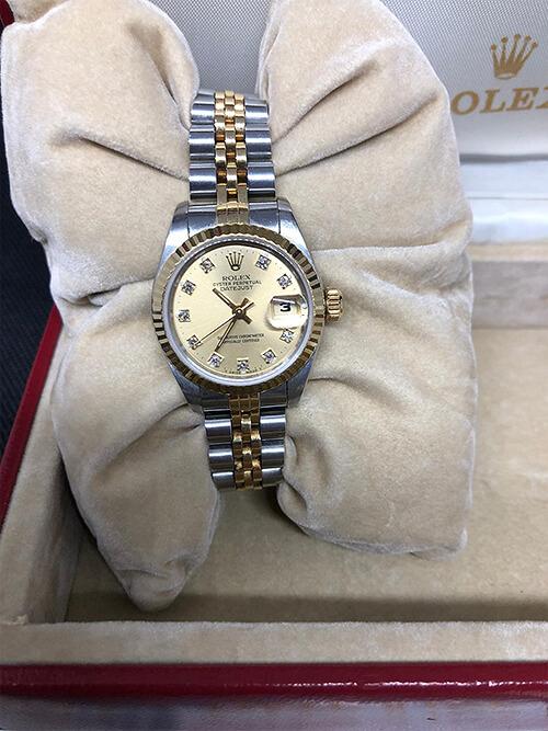 Rolex Datejust Stahlgold 1988 beim Altstadt Juwelier in Mainz