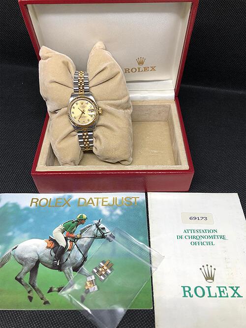 Rolex Datejust Stahlgold 1988 in Original-Verpackung beim Altstadt Juwelier in Mainz