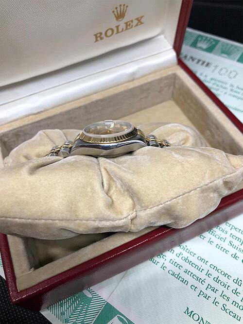 Rolex Datejust Stahlgold 1988 original verpackt beim Altstadt Juwelier in Mainz