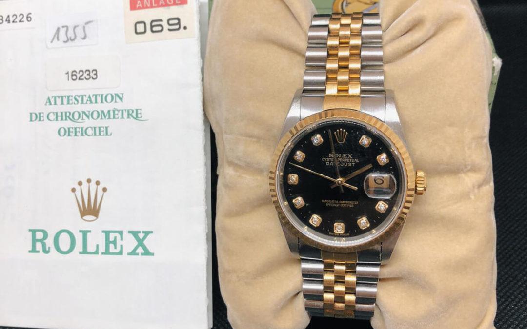 Einfach mal besonders sein: Mit der Rolex Datejust