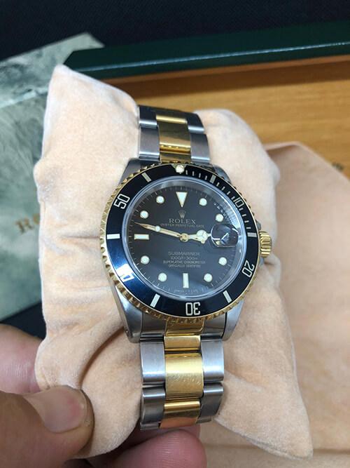 Rolex Submariner Stahlgold 1993 Frontansicht