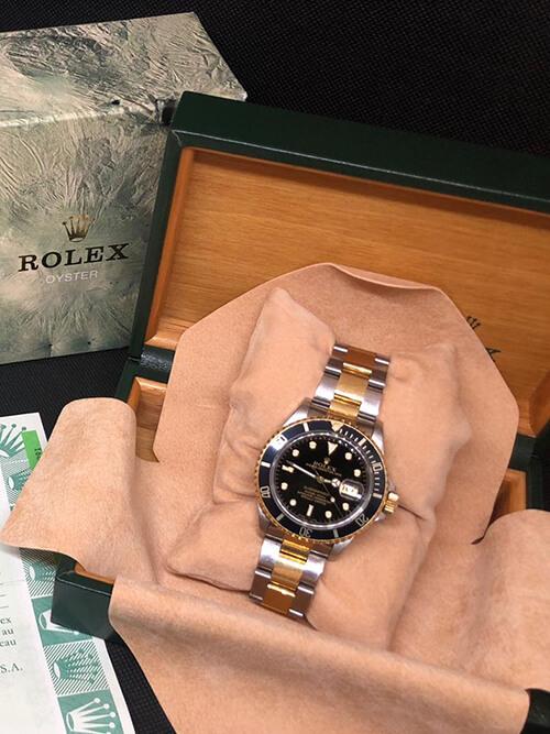 Rolex Submariner Stahlgold 1993 original verpackt