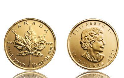 Maple Leaf Goldmünze beim Altstadt Juwelier verkaufen